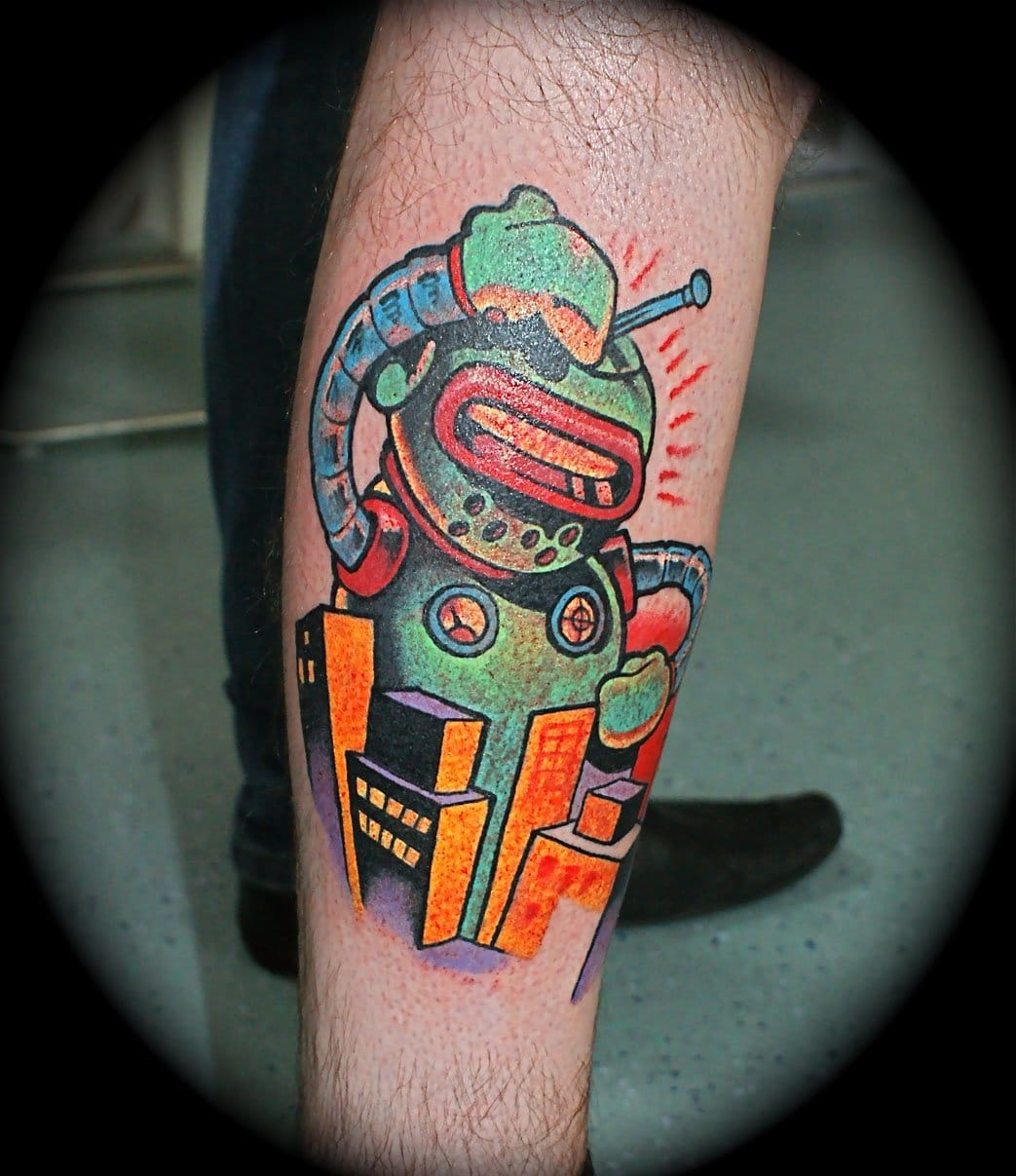 Awesome tattoo by Dan Gold