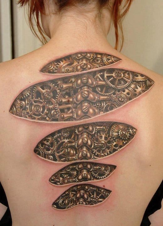 Incredible detail on this backpiece!