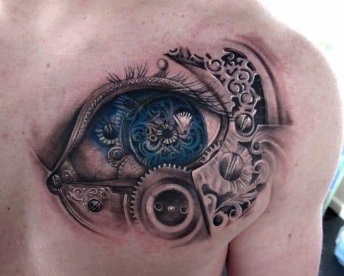 A flawless steampunk eye!!
