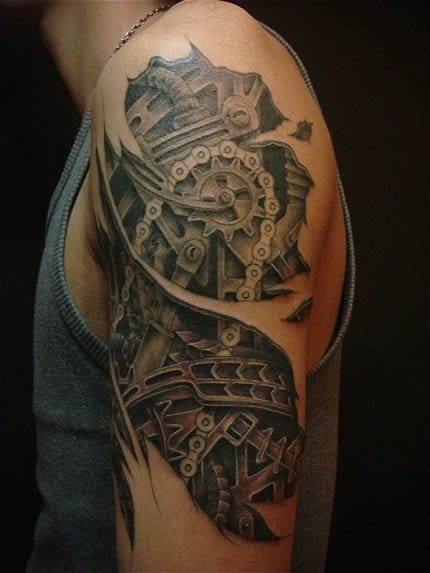 Great shading on this tattoo