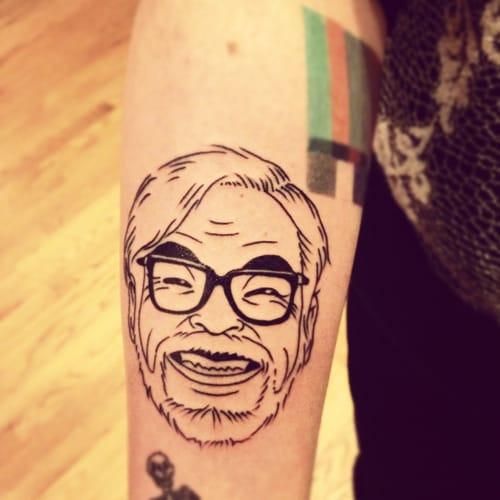 Funny portrait of Hayao Miyazaki himself by Creamy …