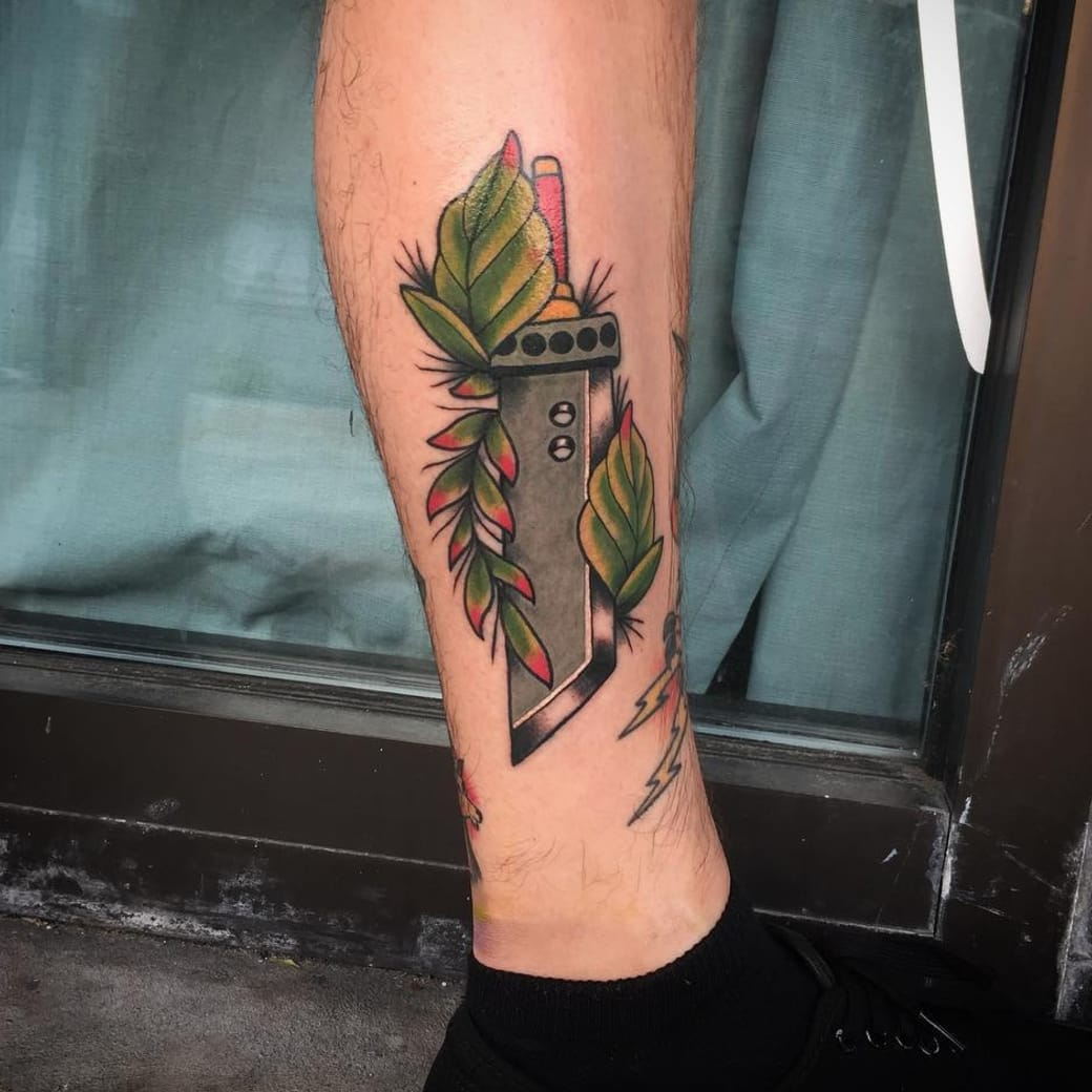 Classic Final Fantasy Tattoos to Celebrate the Release of