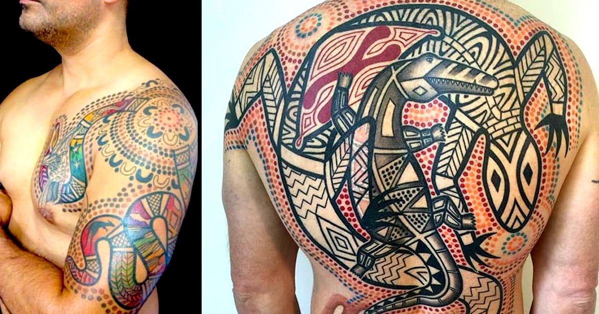 aboriginal tattoos tatu inspired lu tattoodo tattoo