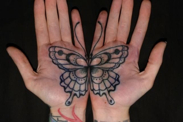 25 Beautiful Butterfly Tattoos