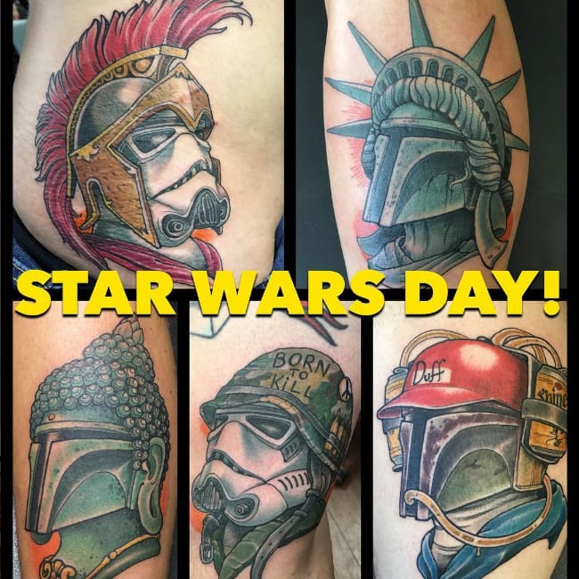 Get Ready for Star Wars Day at Red Rocket Tattoo