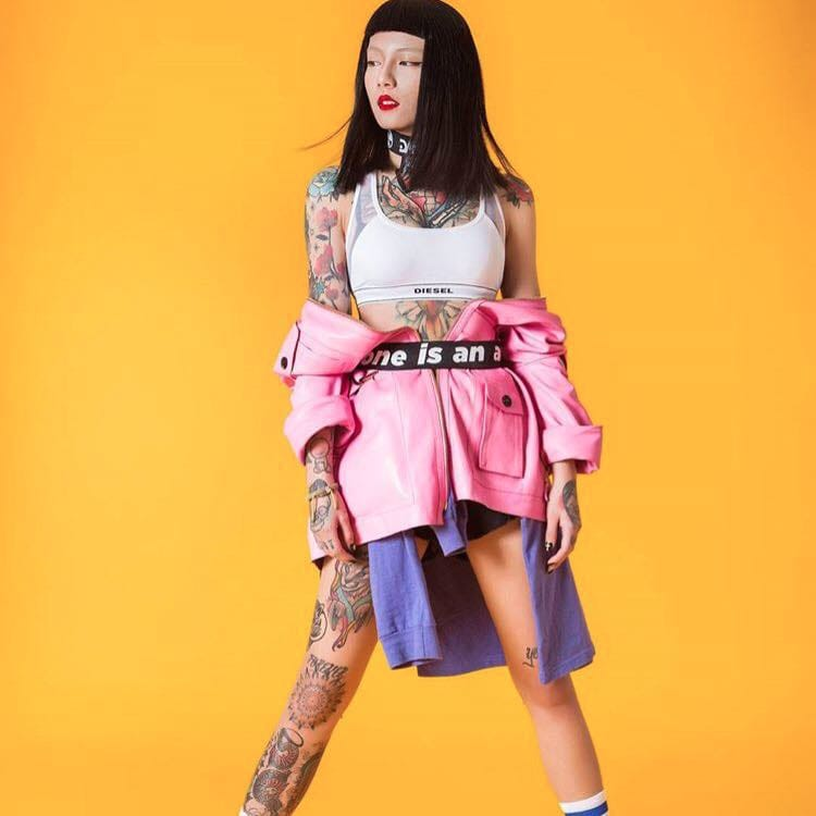 Tattoo Artist Lily Cash Will Be Your Latest Fashion Icon