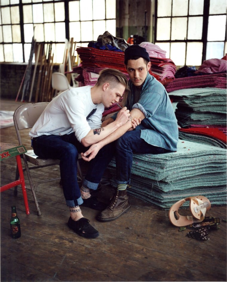 Andreas Laszlo Konrath and Biel Parklee / WMagazine