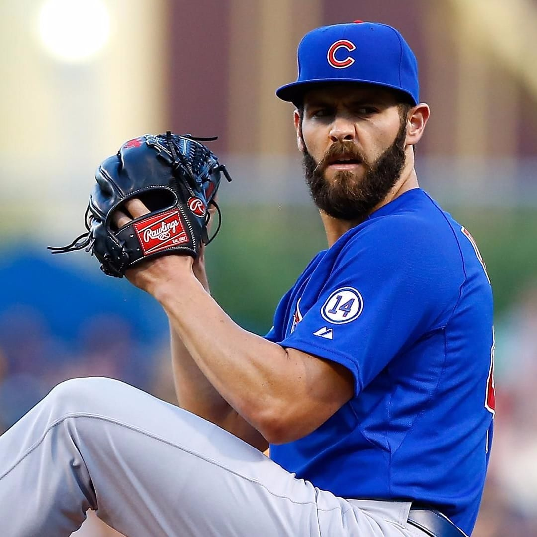 Chicago Cubs Pitcher Jake Arrieta Gets a Tattoo After Losing a Bet