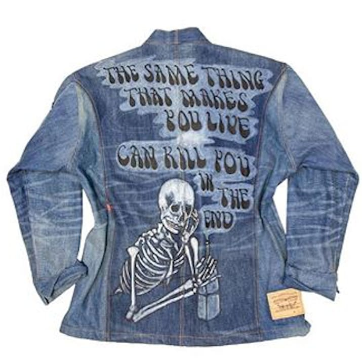 Dr. Romanelli and Matt McCormick Collaborate to Create Levi's Jacket