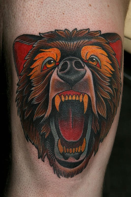 Fantastic tattoo by Stefan Johnsson