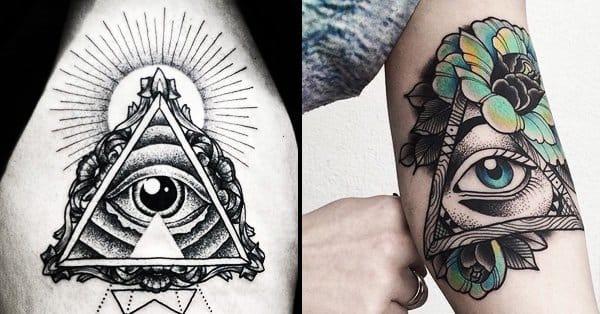 Pyramid Eye Tattoo: The Wonders Of The All-Seeing Eye Tattoo