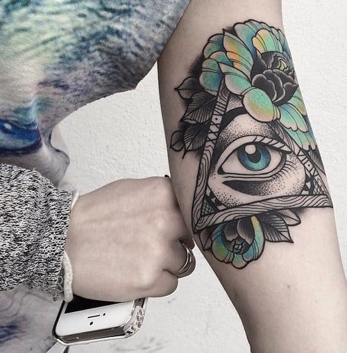 Eye tattoo by Oliwia Daszkiewicz #eye #eyetattoo