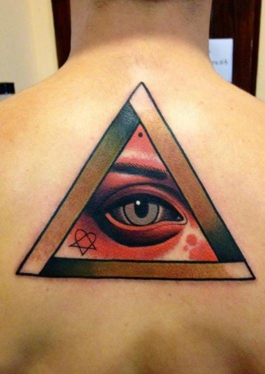 Illuminati eye tattoo by Adrian Edek #illuminati #eye #allseeingeyetattoo #eyetattoo