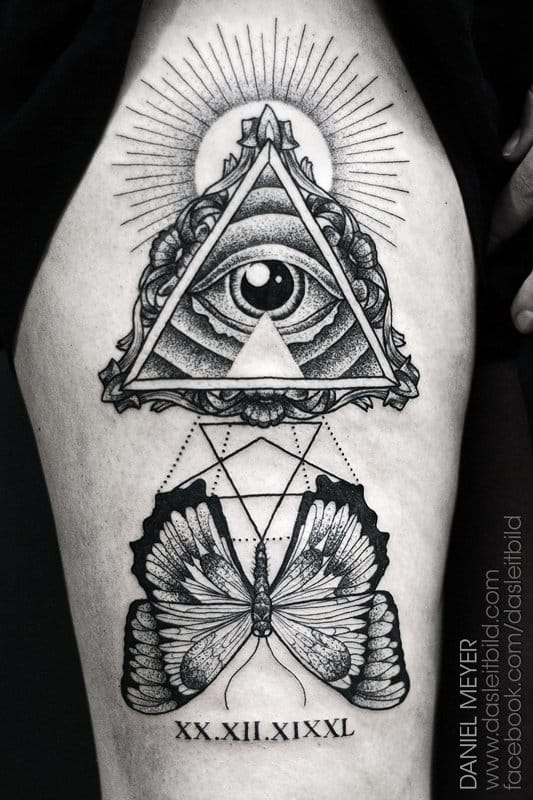 The Wonders Of The All Seeing Eye Tattoo Tattoodo
