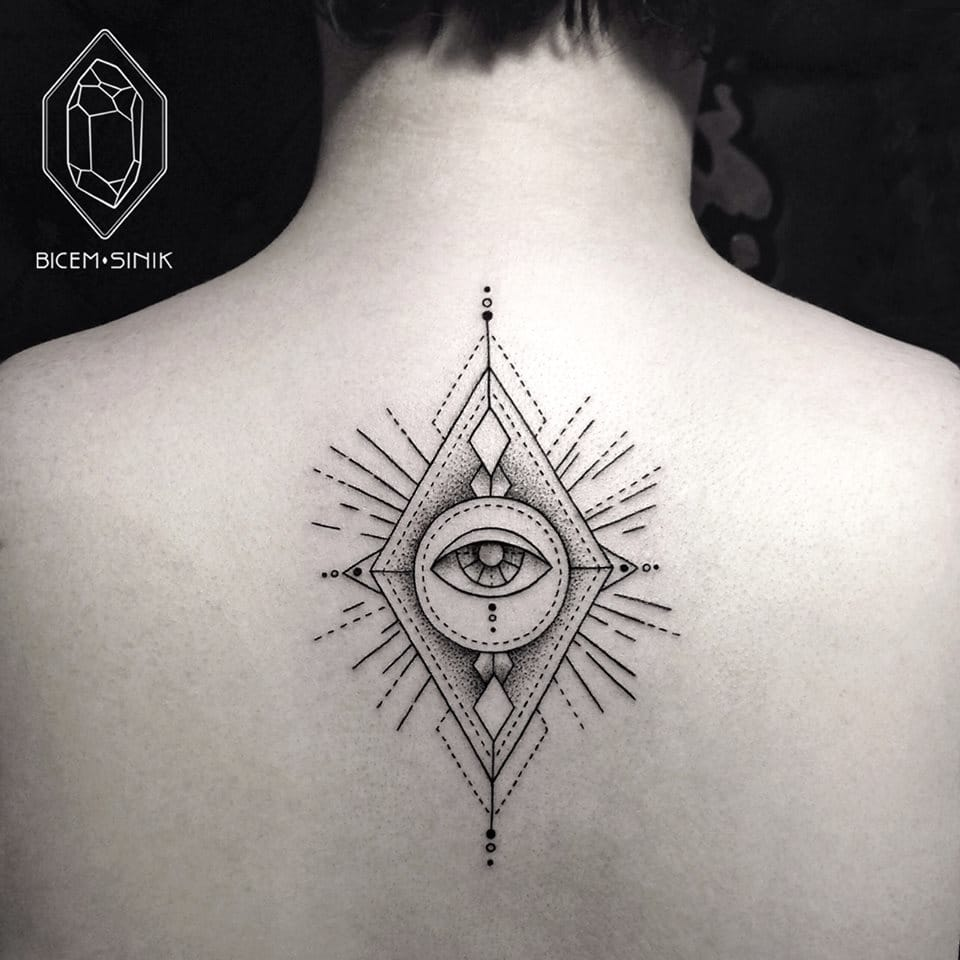 All-Seeing Eye tattoo #eye #allseeingeyetattoo #eyetattoo