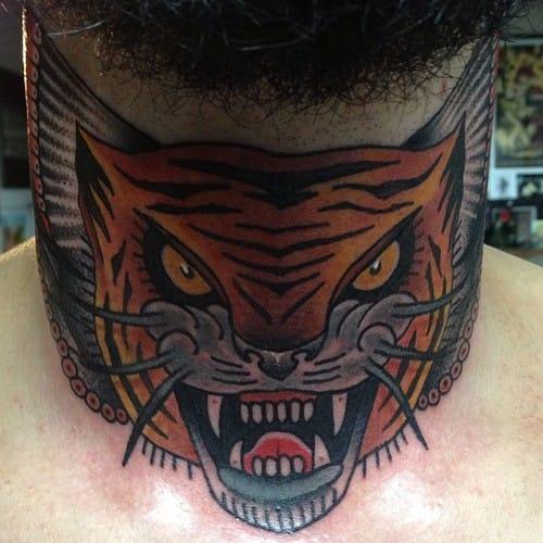 Nick Baldwin did this new school tiger