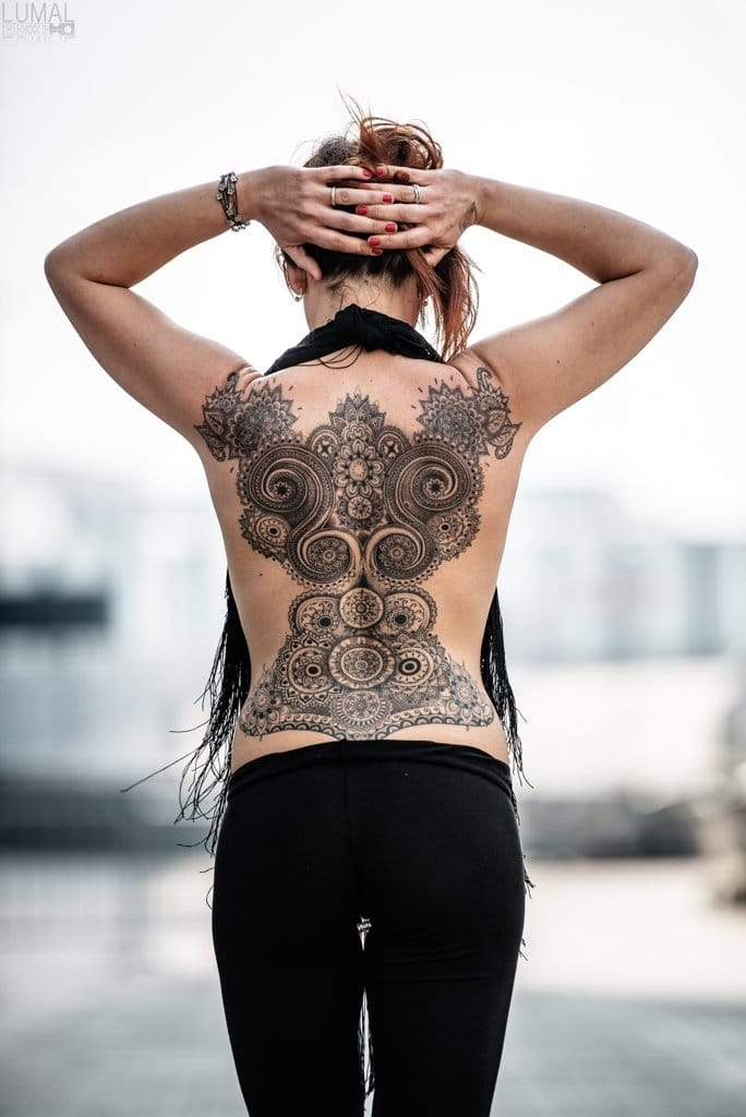 Awesome back piece!