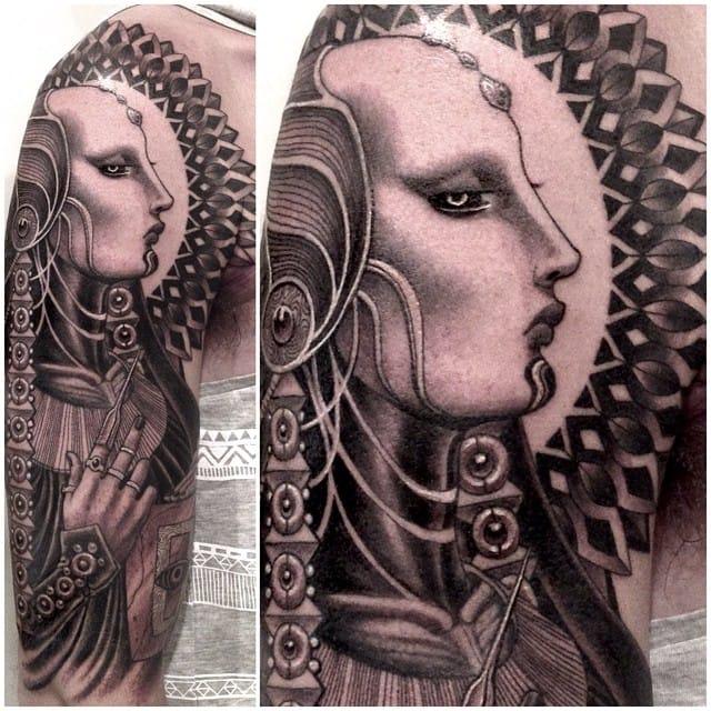 Intricate Black & Grey Tattoos by Anderson Luna