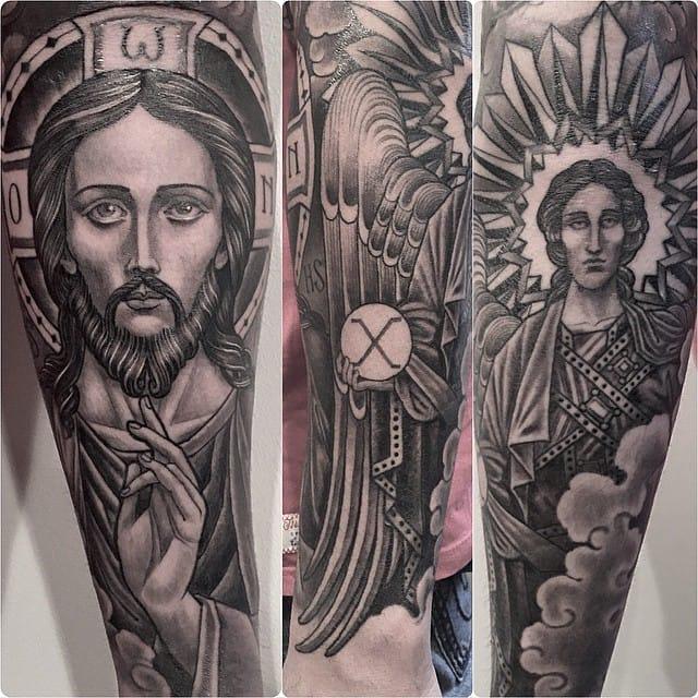 saints tattoo