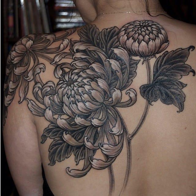 floral patterns tattoo
