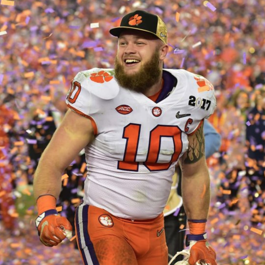 Clemson's Ben Boulware Celebrated Their Championship Win Correctly