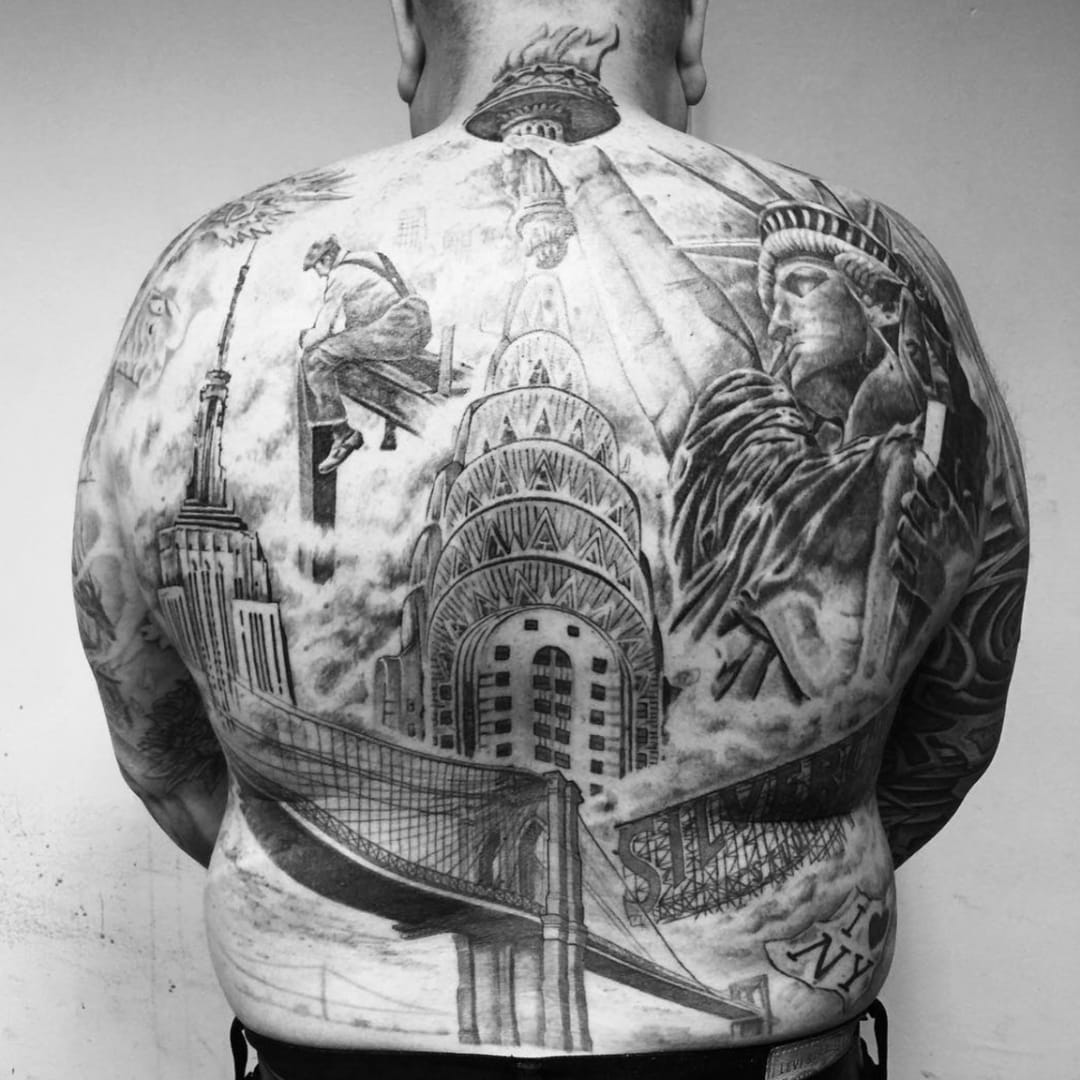 Tattoos Celebrating NYC's Greatest Landmarks