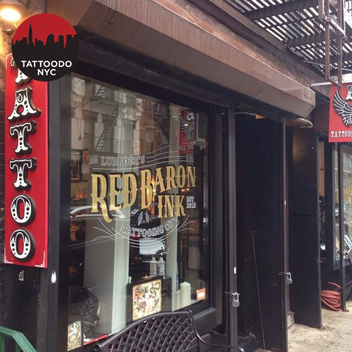 Red Baron Ink Brings the Renegade Spirit to NYC Tattooing