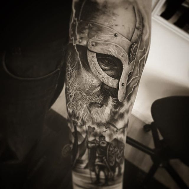 Get Ready to Go Marauding with these Viking Tattoos