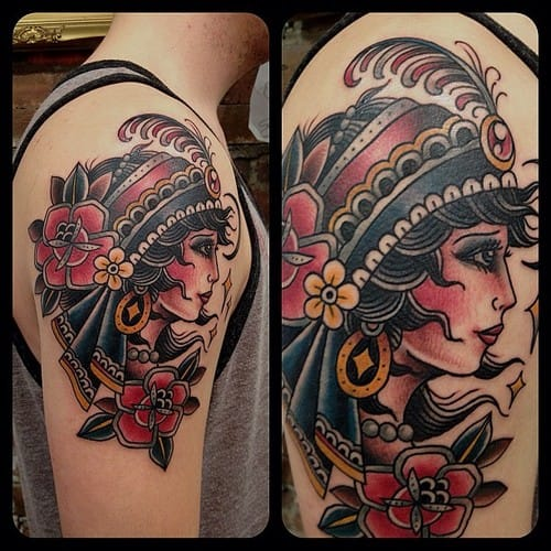 25 Refined Gypsy Tattoos | Tattoodo