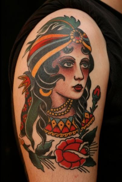 RG74 Tattoo made this old school gypsy!