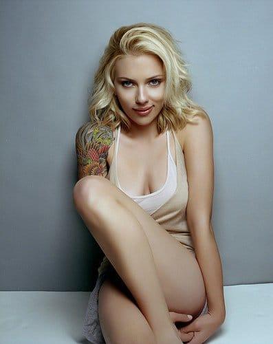 Scarlette Johansson (artist unknown)