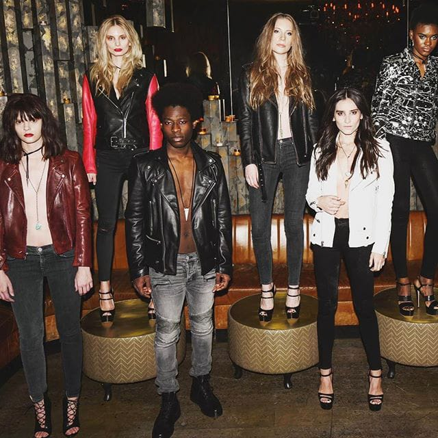 Christian Benner Brings Old School Rock and Roll to NYFW