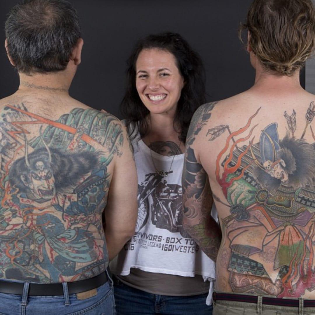 Jill 'Horiyuki' Bonny's Traditional Japanese Tattoos