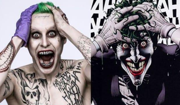 Jared Leto as The Tattooed Joker