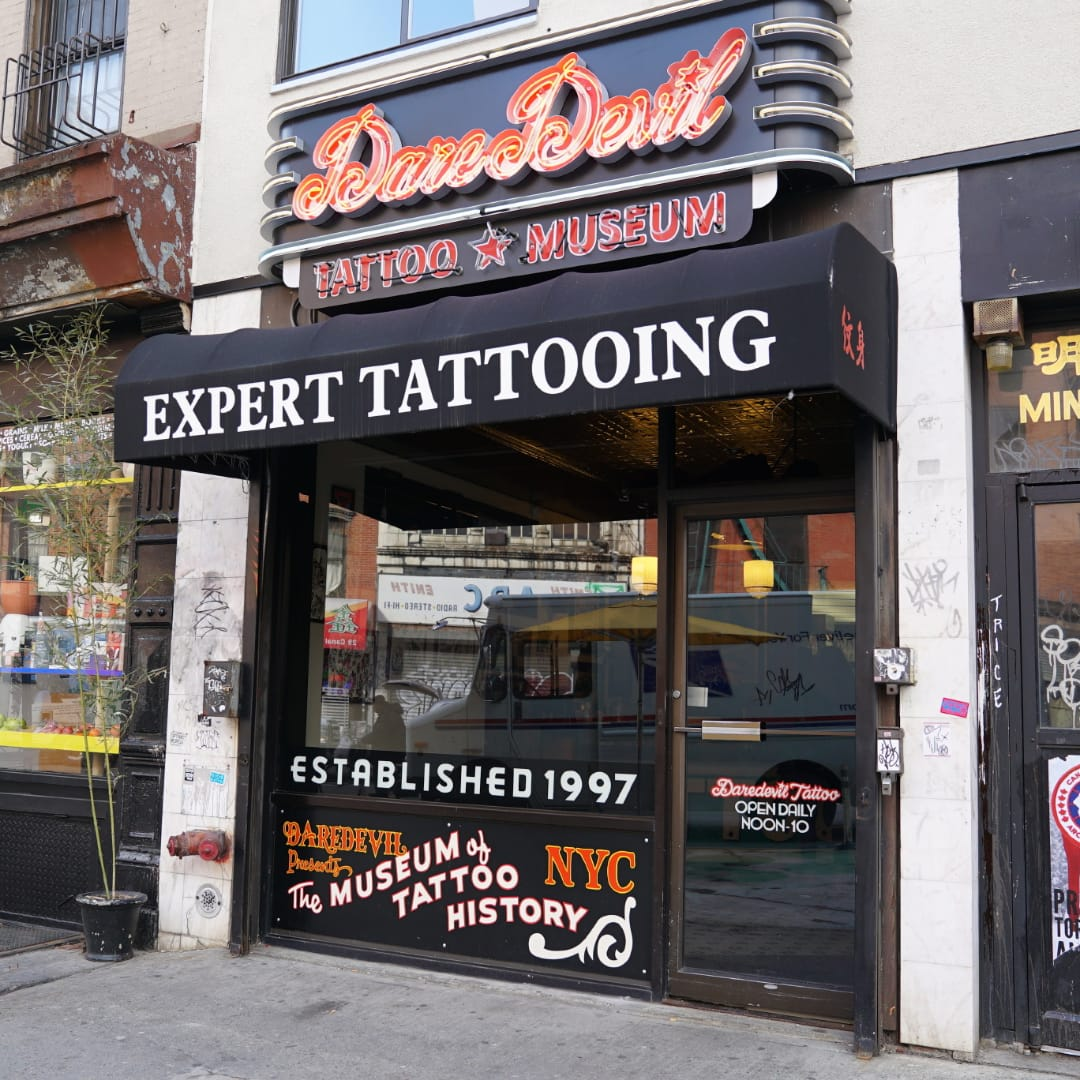 Flash From The Past: The Daredevil Museum of Tattoo History
