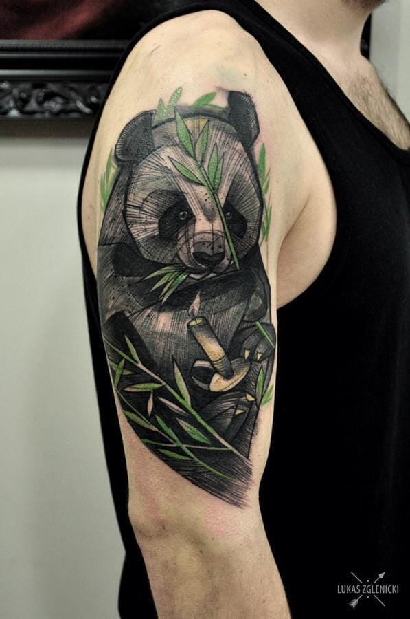 Creative tattoo by Lukas Zglenicki.