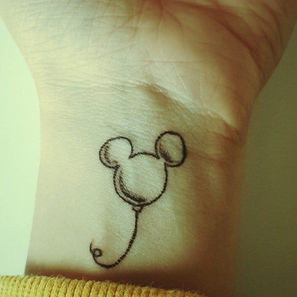 Mickey Balloon Tattoo , Mikivis Instagram