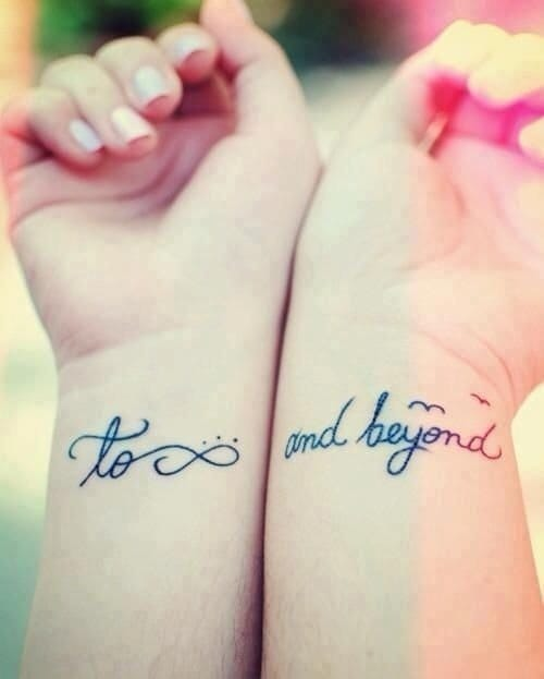 To Infinity & Beyond Tattoo Pinterest