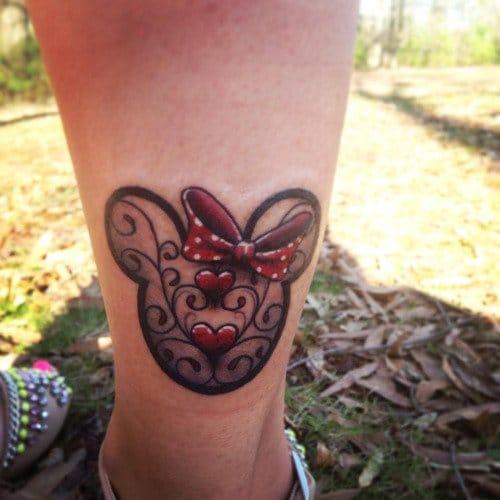 Minnie Decorative Tattoo, Killer Ink, Atlanta Georgia