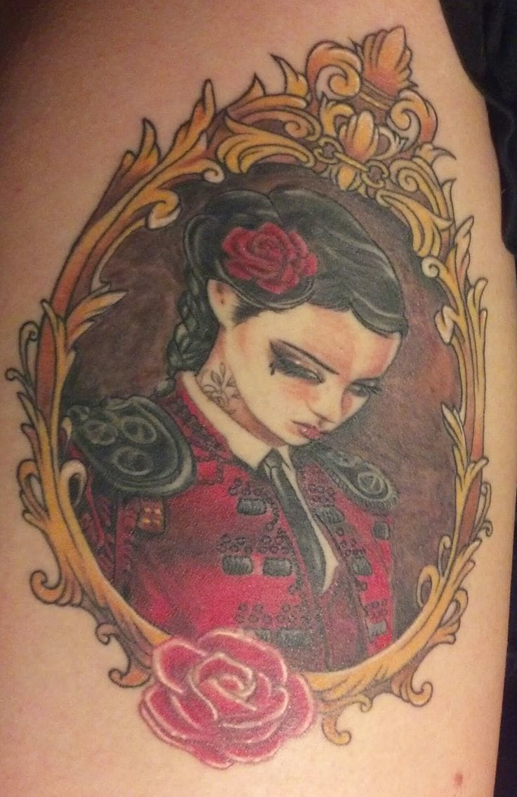 A framed and healed one by Electric Alivia.