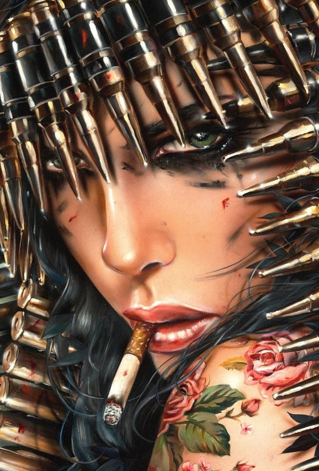 For your inspiration, the art of Brian M. Viveros.
