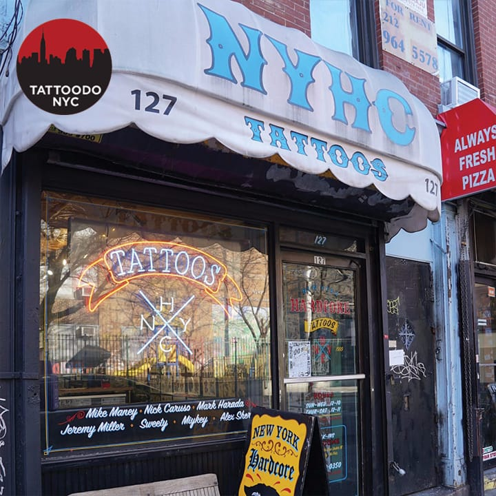 New york hardcore tattoo a shop that proves punk s alive for Tattoo shops in new york