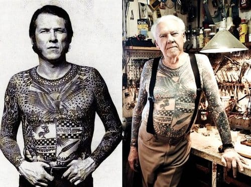 Tattoos last a long time, they'll still be there when your older. But that doesn't mean your in a mid-life crisis!