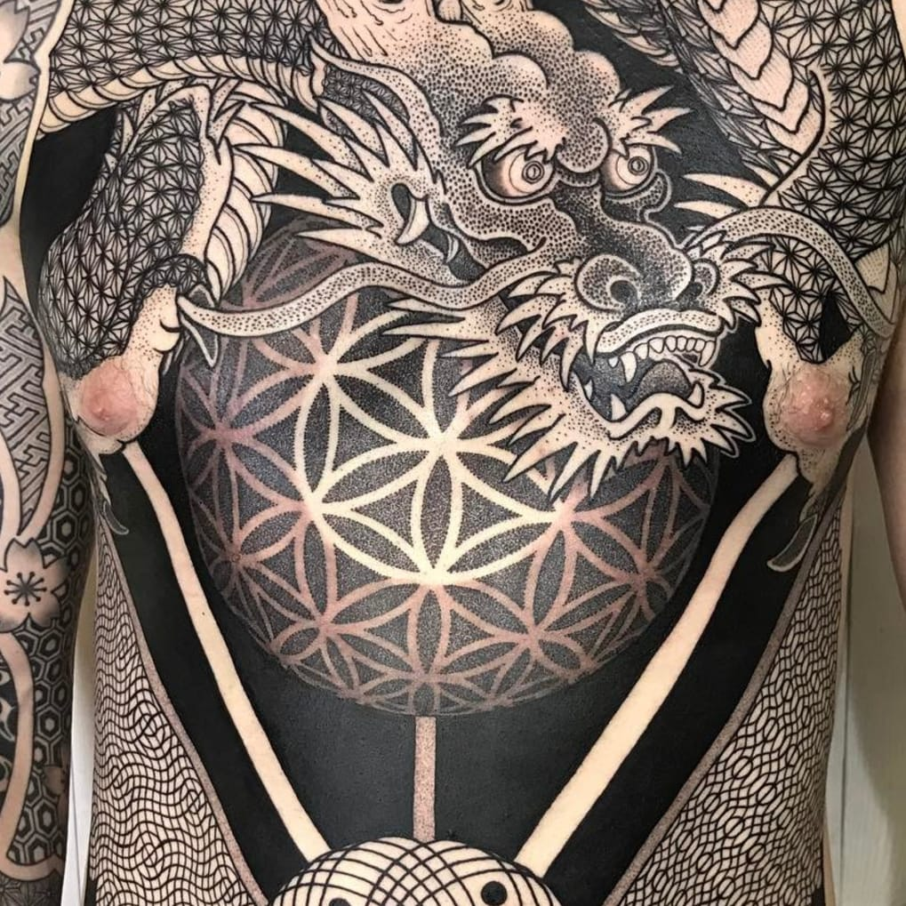 Flower Of Life Tattoo: Tattoos Of The Flower Of Life