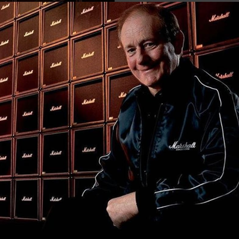 RIP Jim Marshall. May a Choir of JCM800s Guide You to Valhalla