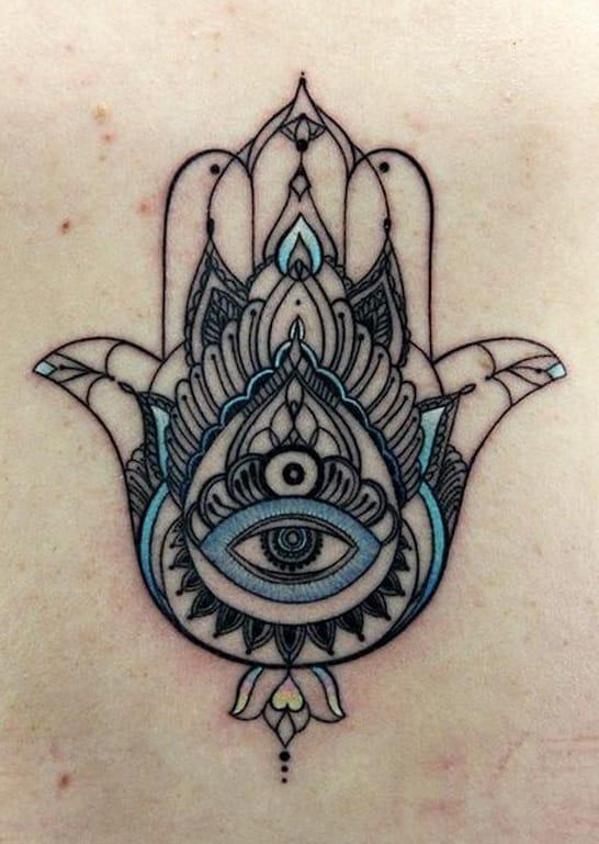 20 Impeccable Hamsa Designs Tattoodo