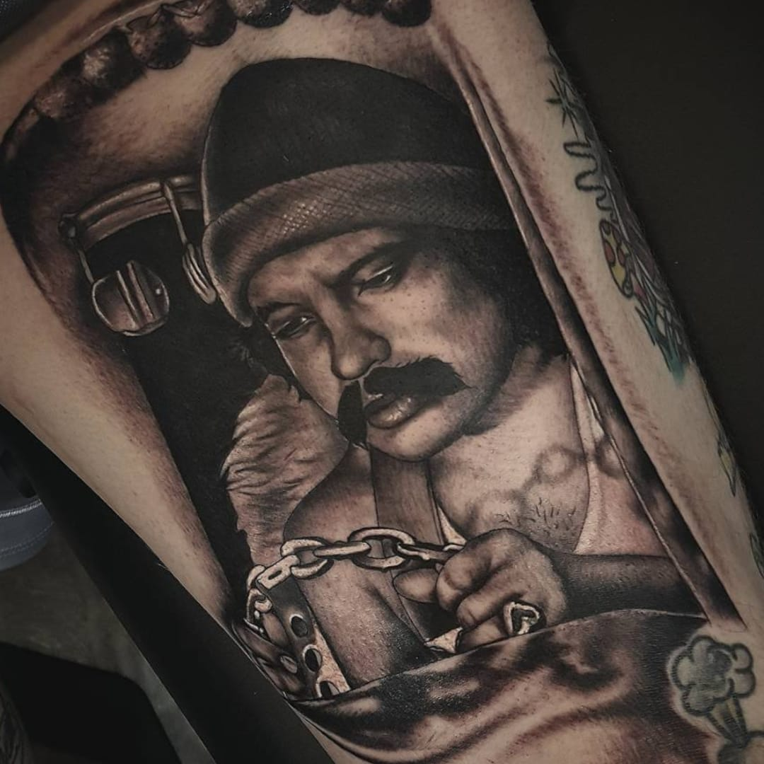Get High on these Cheech and Chong Tattoos