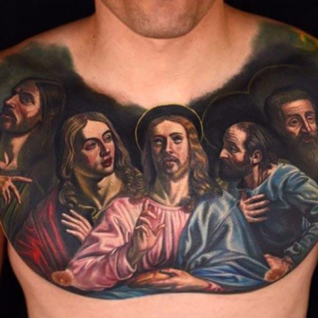 You Gotta Have Faith: Religious Tattoos