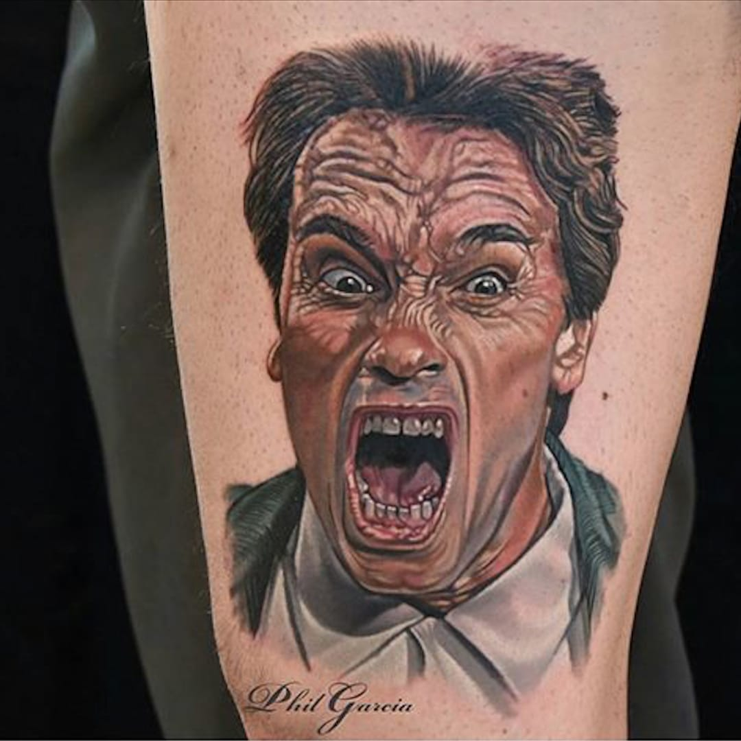 Get to the Choppa in Time for These Schwarzenegger Tattoos
