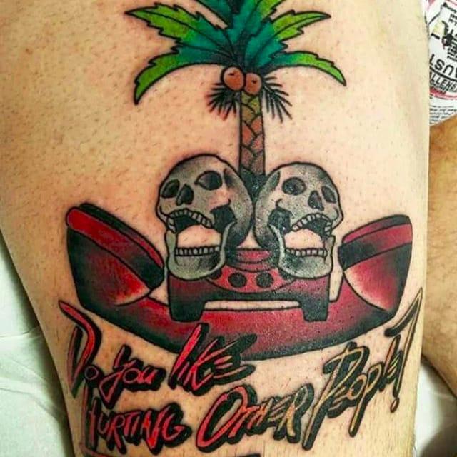 Hotline Miami Tattoos Honor A Perfect Digital Bloodbath